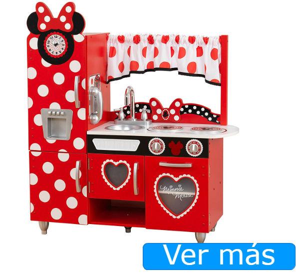 Cocinitas de madera Kidkraft de Minnie Mouse