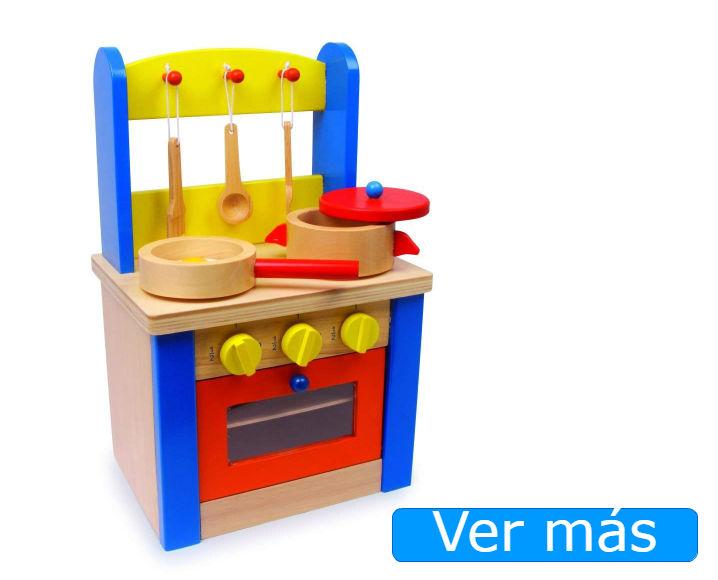 Cocinitas de madera baratas: cocinita de juguete Small Foot
