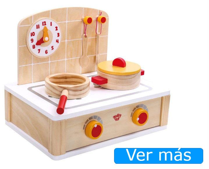Cocinitas de madera baratas Tooky Toy