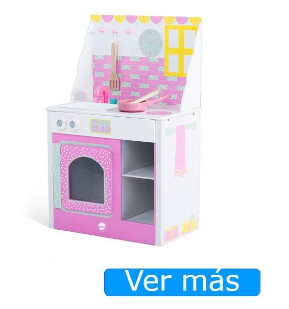 Cocinitas de madera rosa: Plum