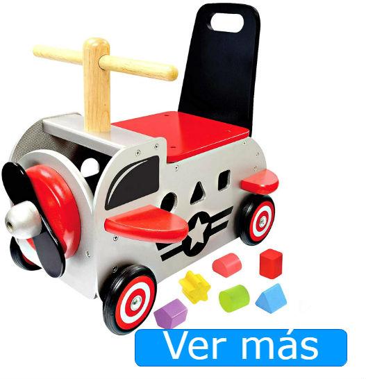 Juguetes de madera para niños de 1 año: correpasillos