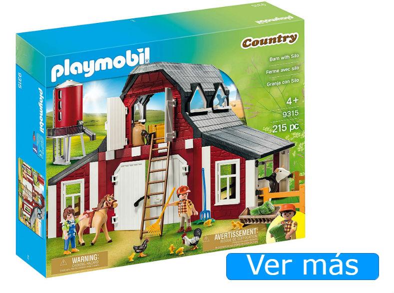 Granja Playmobil Country con silo