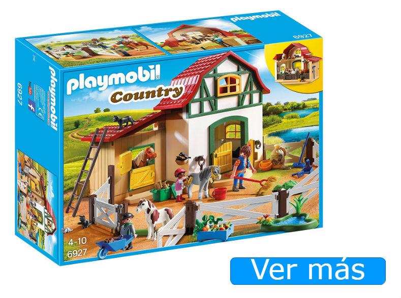 Granja Playmobil de ponis 6927