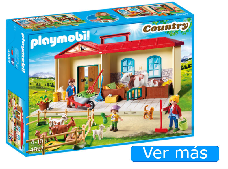 Granja Playmobil maletín