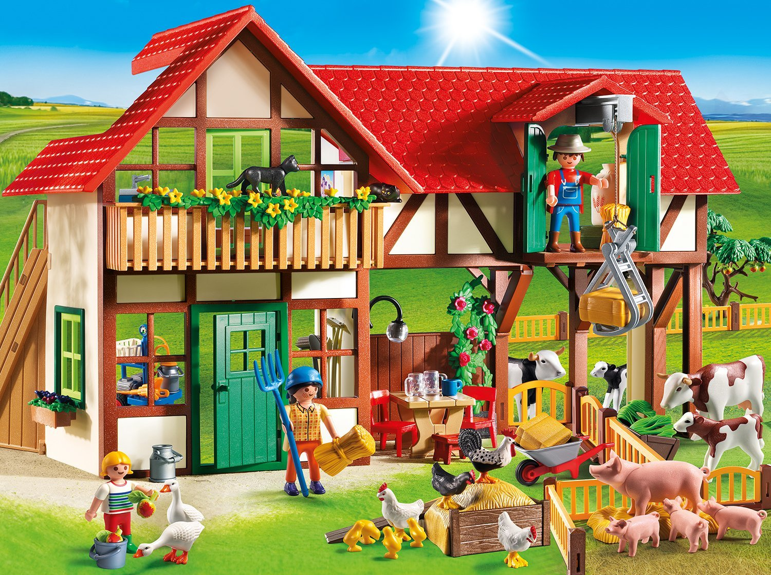 Granja Playmobil country
