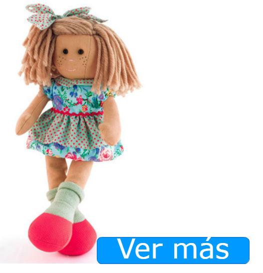 Muñecas de trapo La Nina Marta