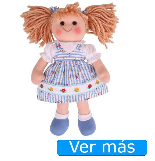 Muñecas de trapo de Bigjigs: Christine