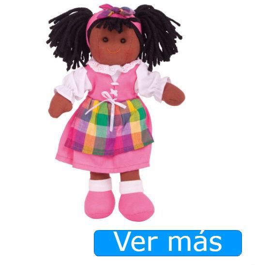Muñecas de trapo: muñeca de trapo negra