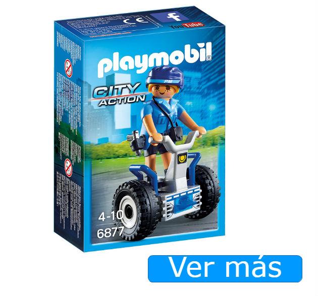 Playmobil Policia con Balance Racer