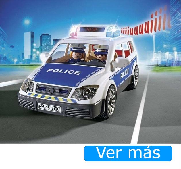 Playmobil Policia  coche
