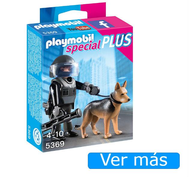 Playmobil Policia con perro