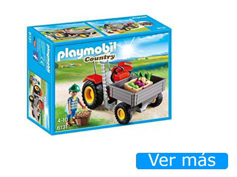 Tractor Playmobil 6131 para granja Playmobil