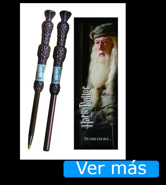 Cosas de Harry Potter: bolígrafo-varita de Dumbledore