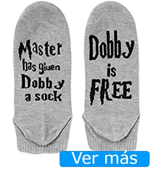 Cosas de Harry Potter: calcetines Dobby