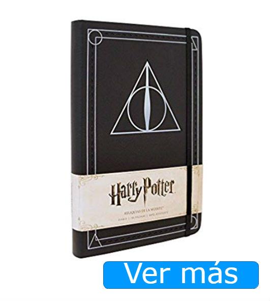 Cosas de Harry Potter: cuaderno de las Reliquias de la Muerte