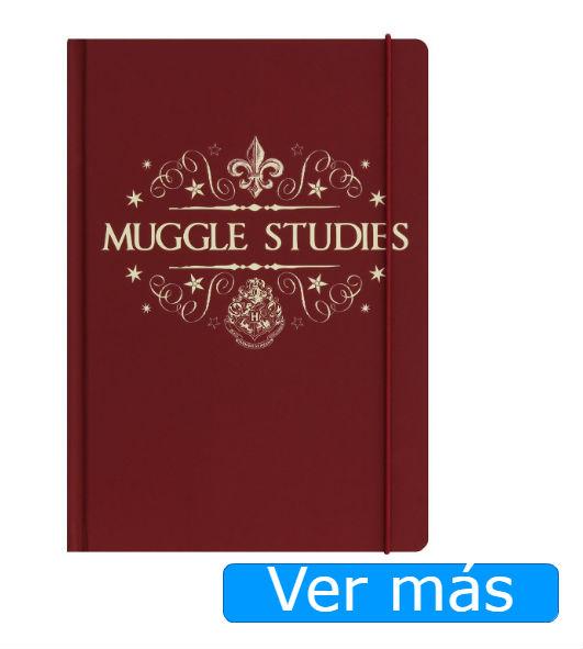 Cosas de Harry Potter: Cuaderno muggles