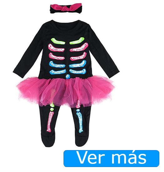 Disfraces de Halloween para bebés de esqueleto