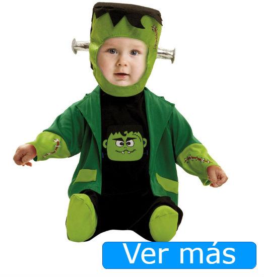 Disfraces de Halloween para bebés: Frankestein