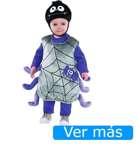 Disfraces de Halloween para bebés: araña