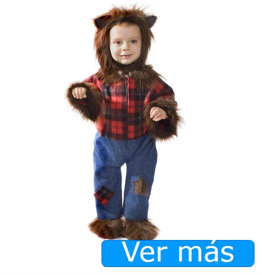 Disfraces de Halloween para bebés: hombre lobo