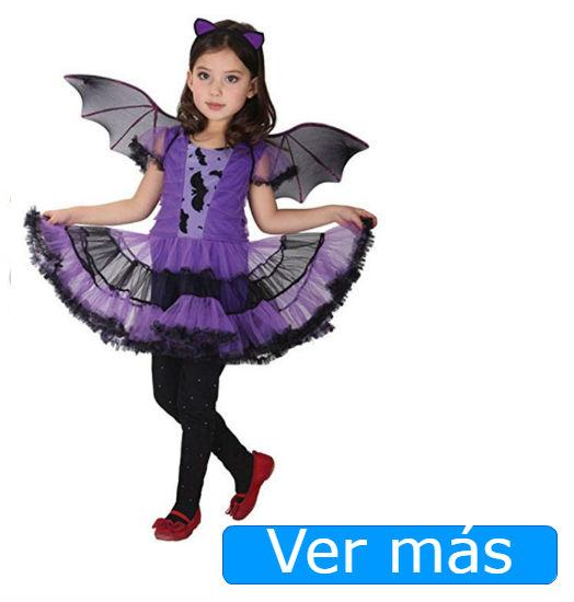 Disfraces de Halloween para niñas baratos: murciélago