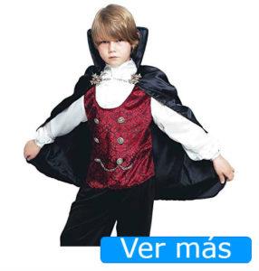 Disfraces de Halloween para niños: vampiro