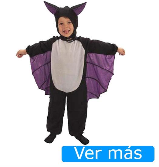 Disfraces de Halloween para niños pequeños: murciélago