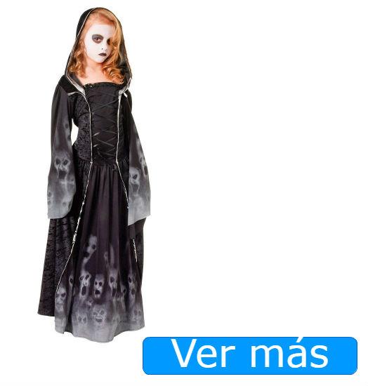 Disfraces de Halloween para niñas que den miedo