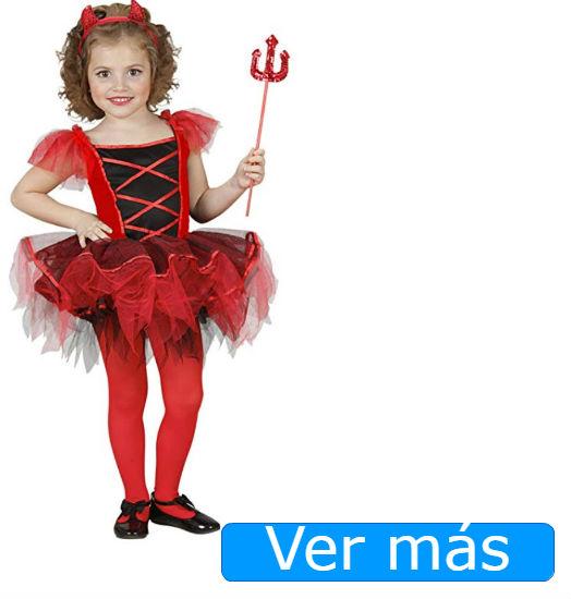 Disfraces de Halloween para niños: disfraz para niña de diablita
