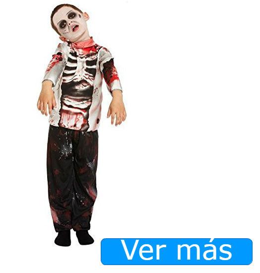 Disfraces de Halloween para niños: disfraz de zombie