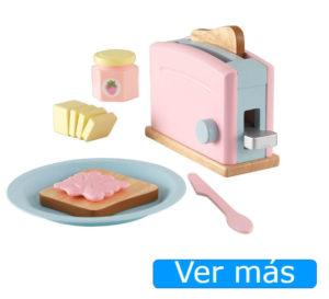 Utensilios de cocina de juguete: tostadora de juguete Kidkraft