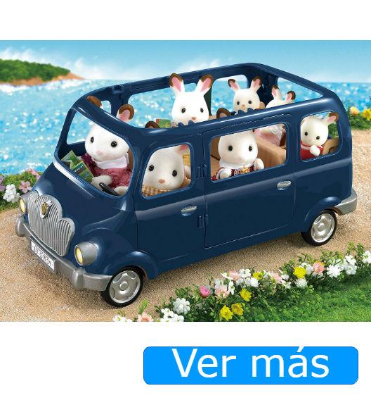 Sylvanian Families coche azul