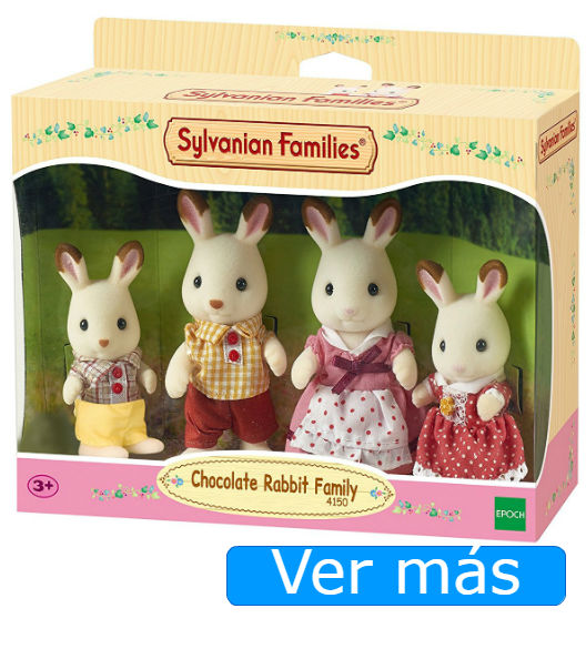Sylvanian Families conejos chocolate