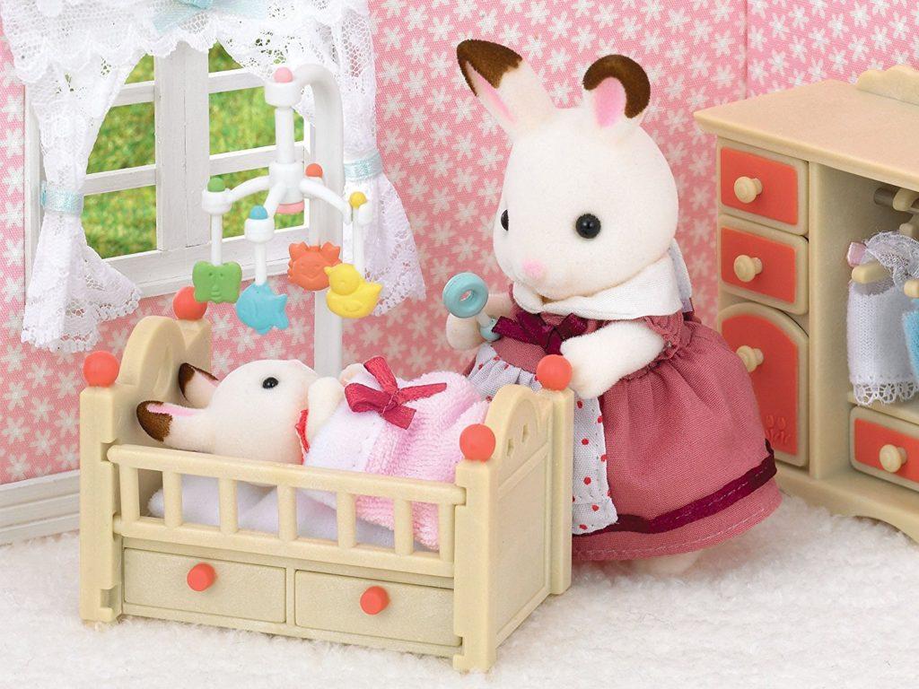 Sylvanian Families habitación del bebé