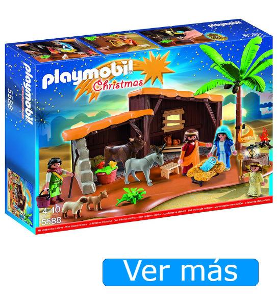 Belén Playmobil con luz