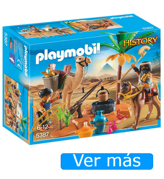 Belén Playmobil: figuras, pozo camello