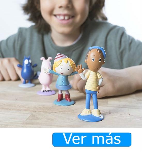 Juguetes de Peg+Gato figuras de Comansi