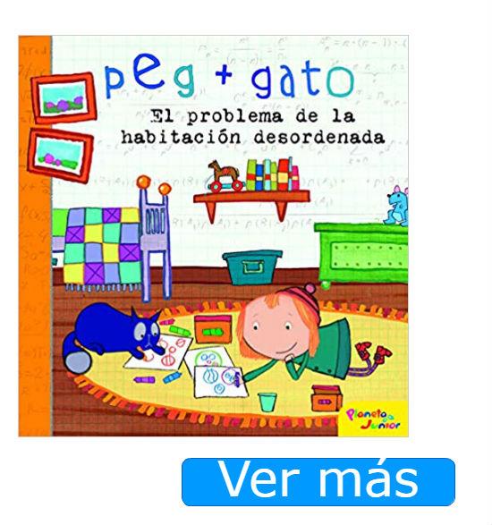 Libros de Peg+Gato El problema de la habitación desordenada