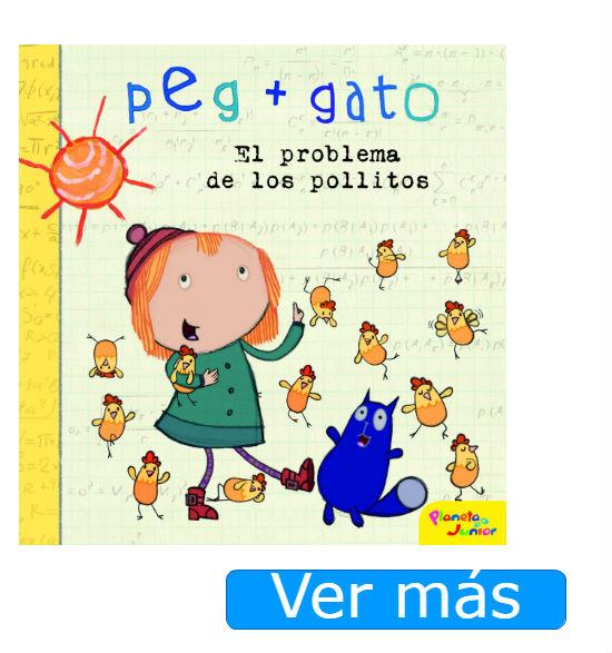 Libros de Peg+Gato El problema de los pollitos