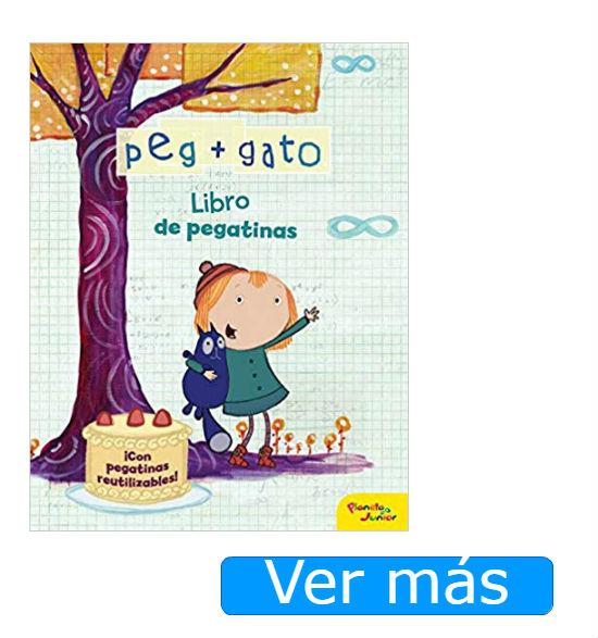 Libros de Peg+Gato pegatinas
