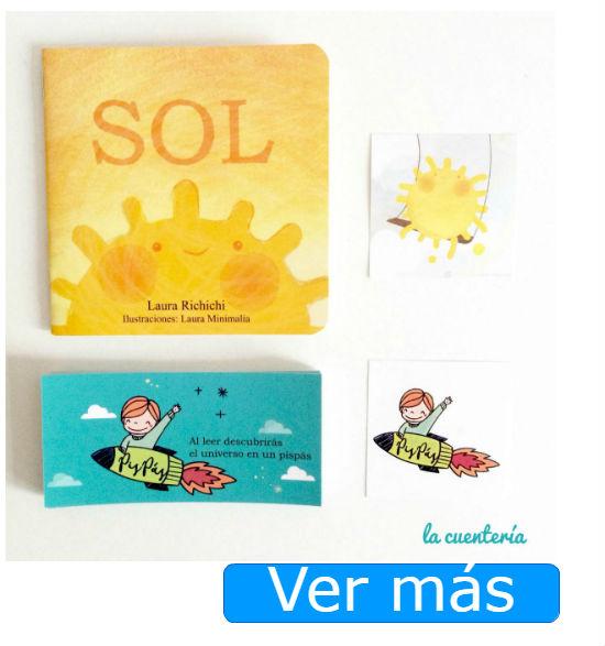Libros para bebés: Sol