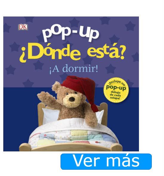 Libros para bebés de 2 años: Pop up Dónde está