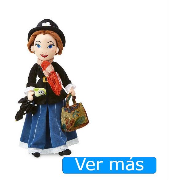 Mary Poppins muñeca de peluche de Disney Store