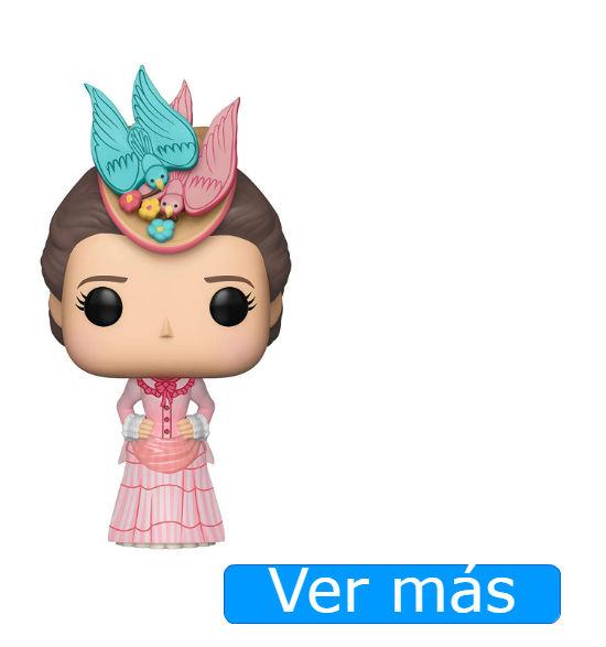 Mary Poppins: muñeca Funko con vestido rosa