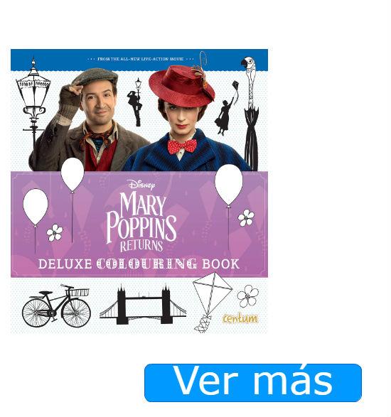 Mary Poppins para colorear: libro en inglés