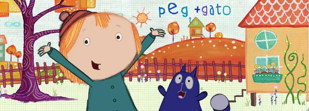 Peg + Gato, serie emitida en Clan