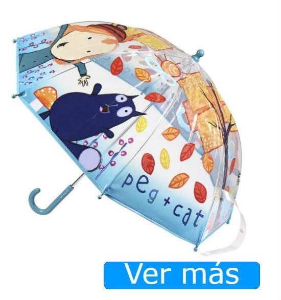 Peg+Gato paraguas