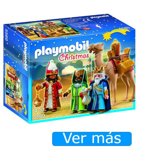 Reyes Magos Playmobil para belén Playmobil