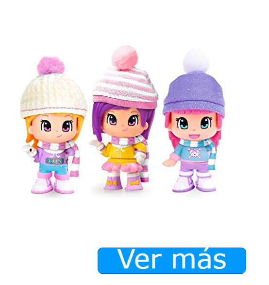 Pinypon Mix is Max cubo figuras de nieve