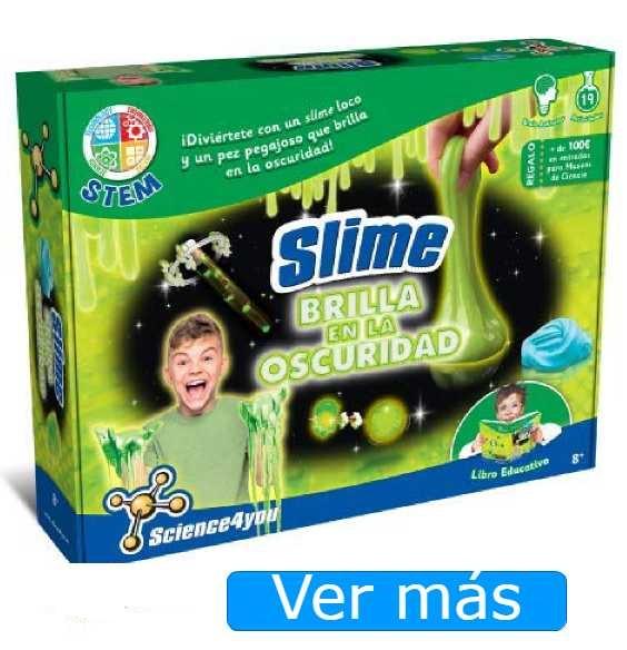 Hacer slime brillante
